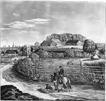 Białowieża, Jakub Sokołowski, 1821, 1784, Julius Karol von Brincken, Puszcza Białowieska, Białowieski Park Narodowy